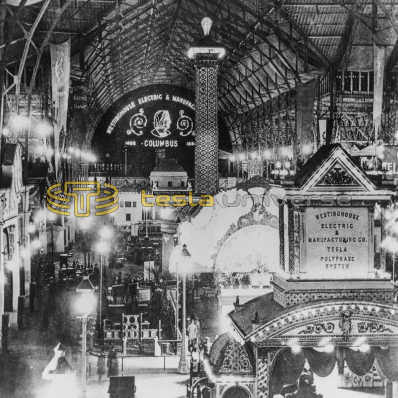 "The ""Electricity Hall"" of the Columbian Exposition (World's Fair)"