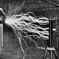 Colorado Springs Experimental Station producing electrical explosions of great power
