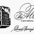 The Alta Vista Hotel letterhead from the time when Tesla stayed there