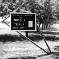 Original Colorado Springs Nikola Tesla historic marker established in 1966