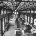 Niagara Falls power plant interior showing all 10 of the Tesla Westinghouse generators