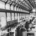 Interior view of the Edward Dean Adams power station at Niagara Falls