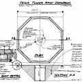 Wardenclyffe tower base excavation plan by Christopher Bach