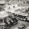 Tesla Westinghouse generating equipment used to power trolleys at World's Fair
